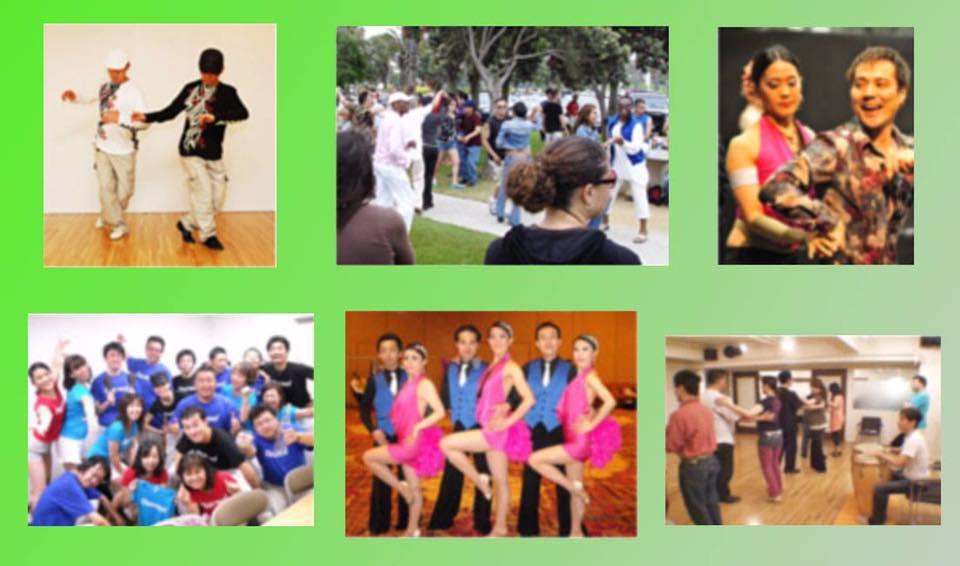 サルサダンスで国際交流。ペアで踊る、ひとりでで踊る、ステージで踊る、いろいろな楽しみ方があります。